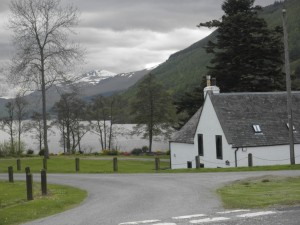 Looking west on Loch Tay