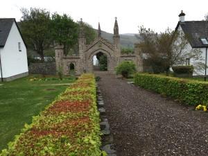 Kenmore, former walled garden